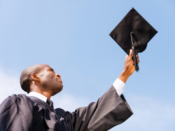 Gardner Center review addresses the wide gaps in college enrollment and success for many Black and Latino boys (Photo: Shutterstock)
