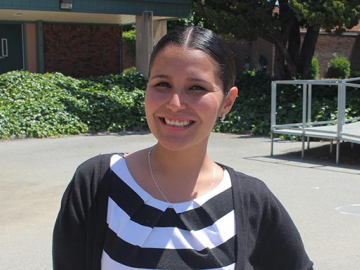 Irene Castillon, MA' 10, is the founding academic dean and Mexican-American history teacher in east San Jose at the Luis Valdez Leadership Academy, a charter school managed by the Foundation for Hispanic Education.