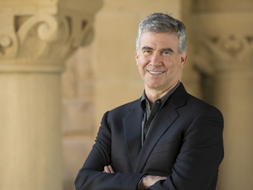 Professor Daniel Schwartz, an expert in human cognition and educational technology, has been a member of the Stanford faculty since 2000. (Photo: Linda A. Cicero / Stanford News Service)