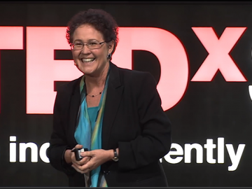 Linda Darling-Hammond on May 17 at TEDX Stanford.