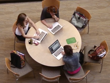 The Student Collaborative Learning Fund supports projects that promote scholarly collegiality. (Photo: Stanford GSE)